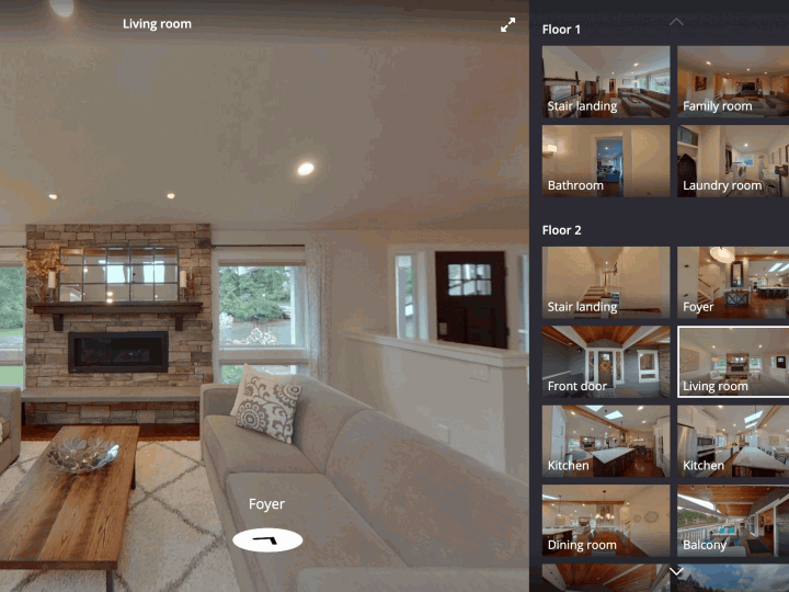3D Zillow Home 360 Virtual Tour